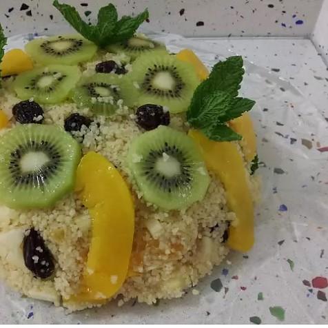 Tabulé de frutas